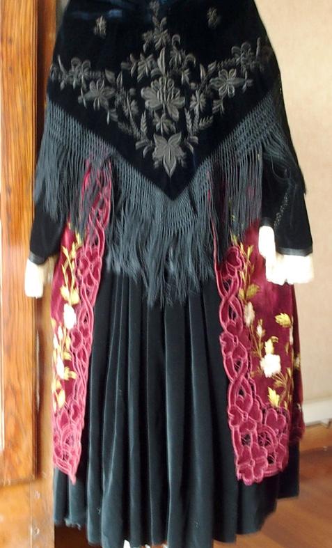 Costume de Muzillac - Vue de dos