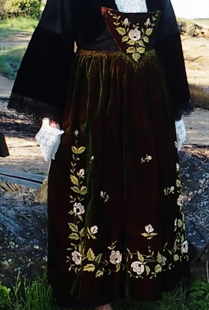 Costume presqu'île de Rhuys