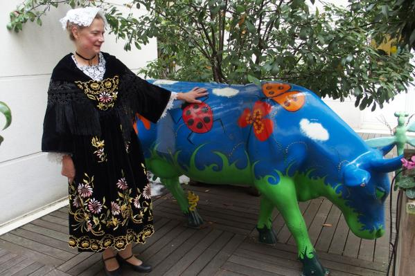13022018 francoise et la vache bleue