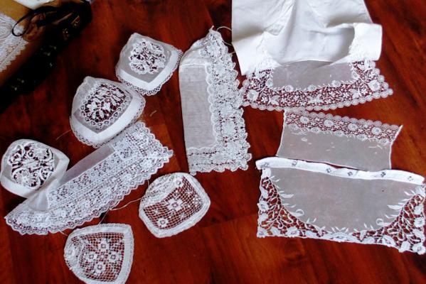 Eléments de parure costume Auray
