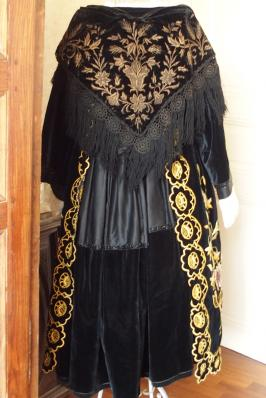 Costume breton costume de vannes 1920 vue de dos