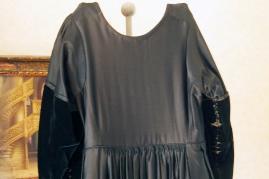 Dos de robe de vannes sans velours