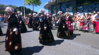 Danseuses region Vannes-Auray