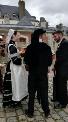 Un costume aux influences de Cornouaille