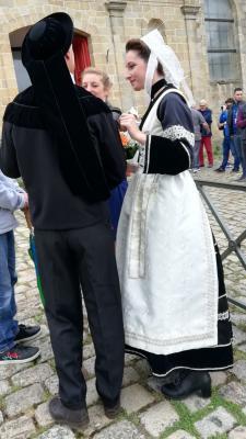 Costume de femme du Crouesty et homme de Bubry