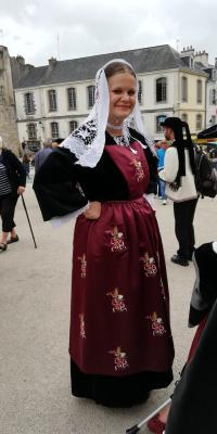 Costume du Pays de Baud des années 10