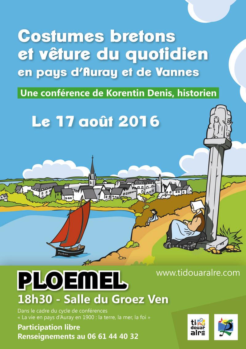 Conférence sur Costumes bretons