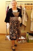 Premier essai a l atelier de couture et broderie