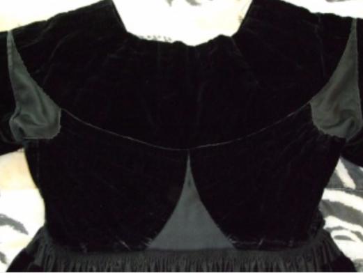 Robe du Morbihan vue de dos