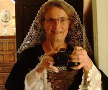 Selfie de graciane en coiffe kornek de baud