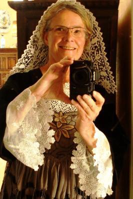 Selfie en coiffe kornek de baud